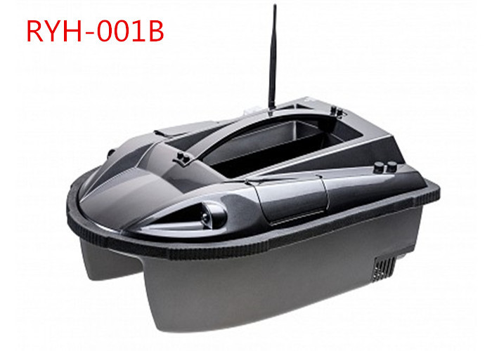 2.4GHZ  Digital Eagle Finder Intelligent RC Fishing Boat, GPS Bait Boat Black RYH-001B