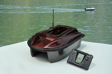 Coklat Two Way Wireless Remote Control GPS umpan perahu - upgrade edisi RYH-001B