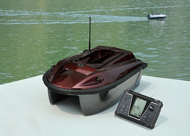 Coklat Eagle Finder Wireless Remote Control umpan perahu, kecepatan tinggi Memancing kapal RYH-001A