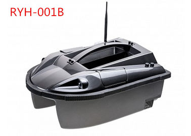 2.4GHZ Digital Eagle Finder Cerdas RC Fishing Boat, GPS Umpan Perahu Hitam RYH-001B
